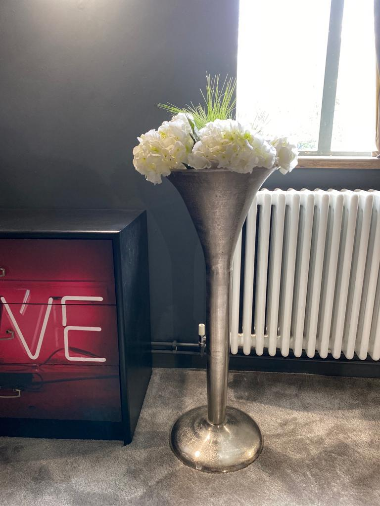 Hand Made Champagne Flute/Planter